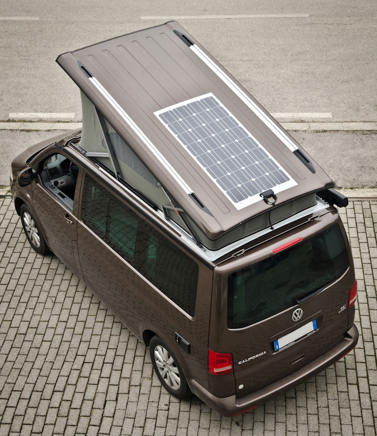 Pannello Solare Westfalia : Pannelli solari c lover van solutions